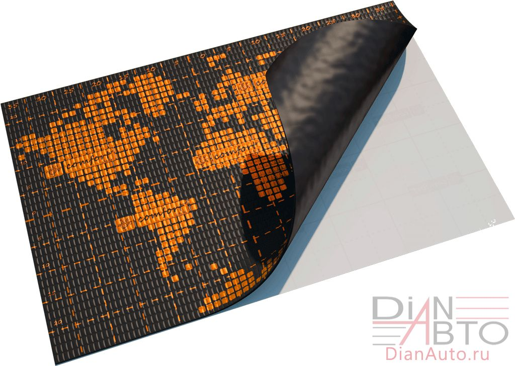 Виброизоляция Standart Group Comfort mat D3 Dark