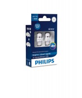 Светодиодная лампа Philips X-tremeUltinon LED W5W 12V-1W 6000K