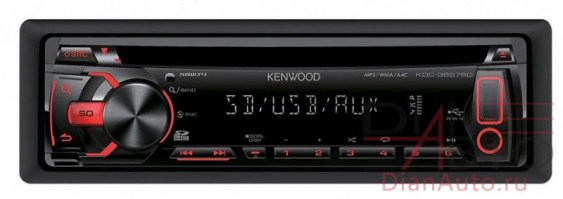 Автомагнитола CD Kenwood KDC-3657SD